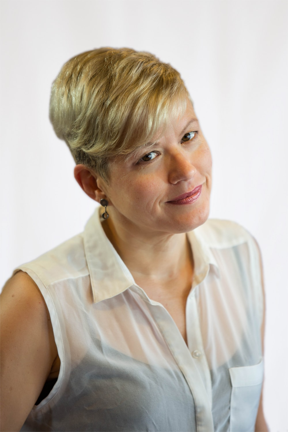 Headshot of artistic and executive director Emma