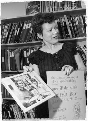 Photo of Emma Tibaldo in black and white