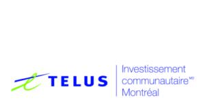 Telus: Investissement communautaire Montreal logo