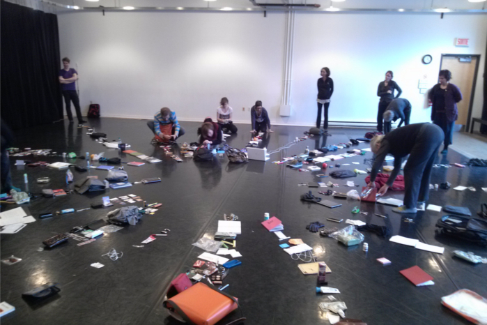 Photo of artists participating in Exploring Practice