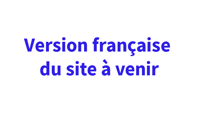 notice: la version française de notre site web est à venir bientôt