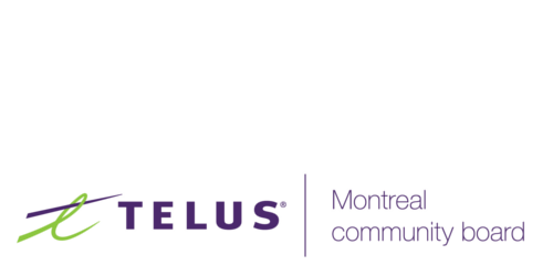 Logo of the Telus Montreal Community Board