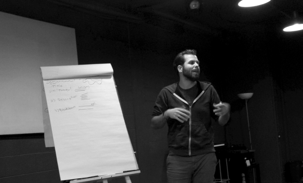 Exploring Practice: Preparing Project Grants for Emerging Artists with Jesse Stong