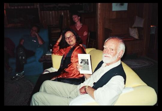 Linda Gaboriau and Bill Glassco in Tadoussac