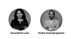 Suvendrini Lena and Dushy Gnanapragasam