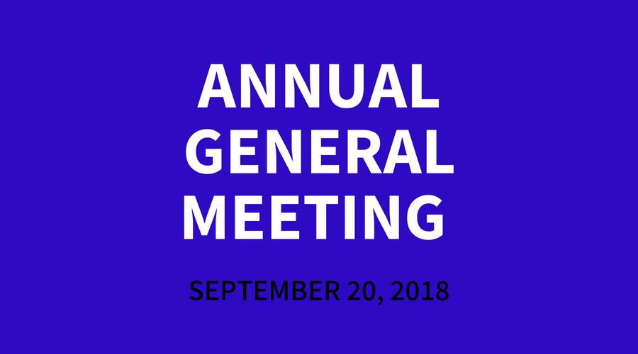 PWM's Annual General Meeting