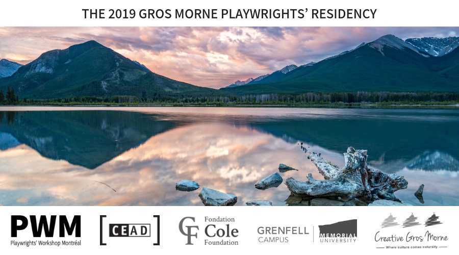 The 2019 Gros Morne Playwrights Residency
