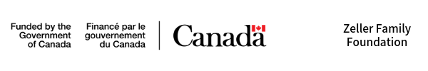 Logo: Canadian Heritage and the Zeller Family Foundation