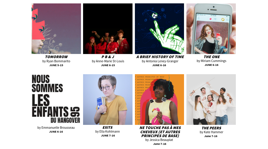 YCU at the 2019 MTL Fringe