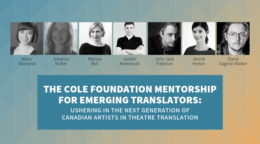 Story of the Cole Foundation Mentorship for Emerging Translators