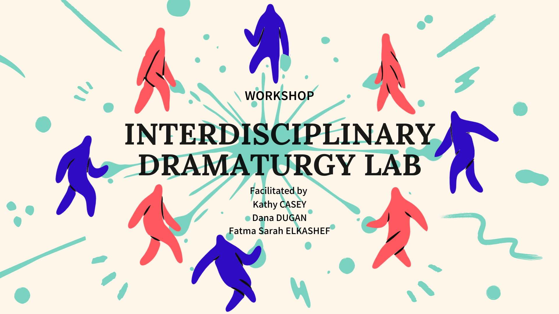 Illustration for the Interdisciplinary Dramaturgy Lab workshop 2021