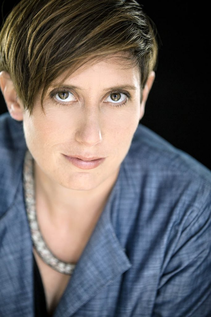 Headshot portrait of Erin Shields